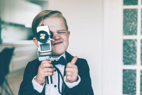 video tournage enfant